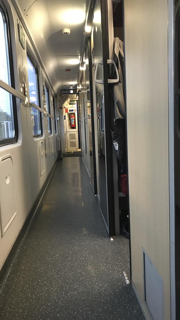 Zugfahrt nach Innsbruck